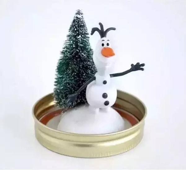 孩子一起动手做圣诞树 圣诞老人吧