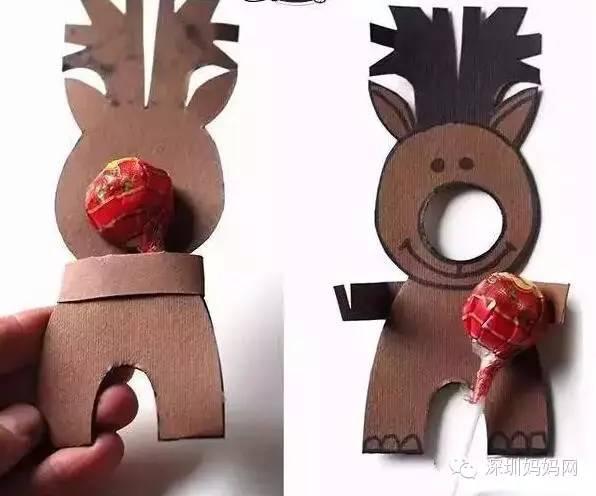 简单diy,和孩子一起动手做圣诞树,圣诞老人吧
