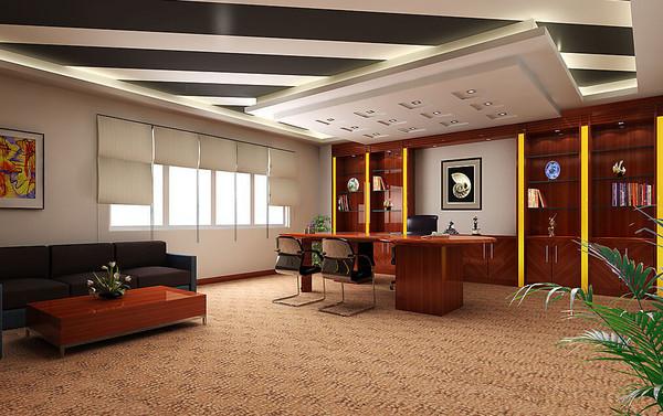 办公室装修充满竞争力,促进学习能力,如果是封闭式的 办公室设计,那么图片