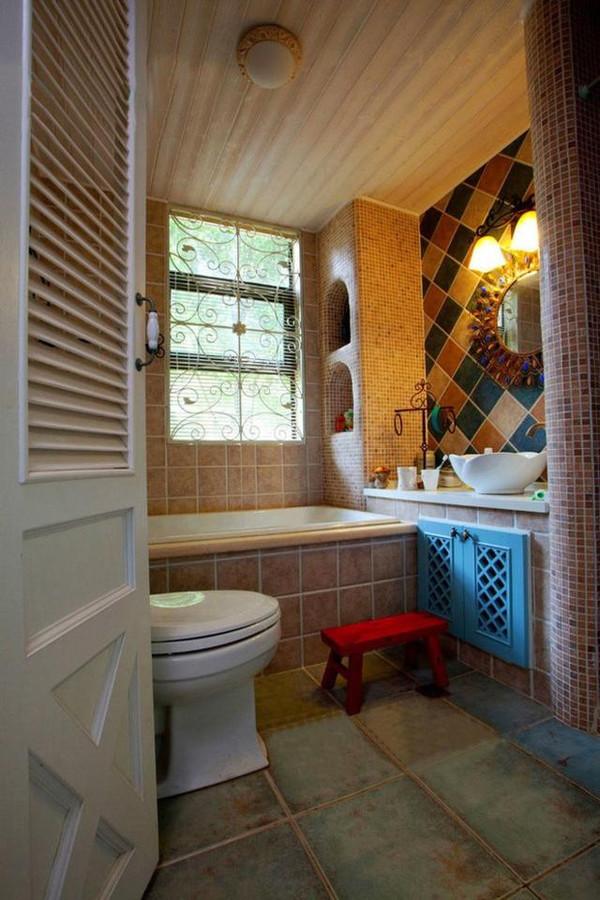 不到4㎡的卫生间,竟然有浴缸+淋浴!太实用了!
