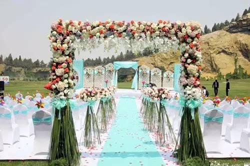 农村婚礼舞台效果图