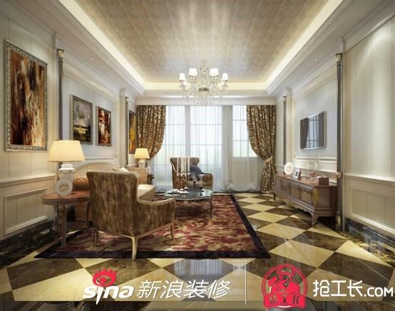 客厅集成墙板是风格的演绎化,将这个空间装扮成什么样的风格,强调细节图片