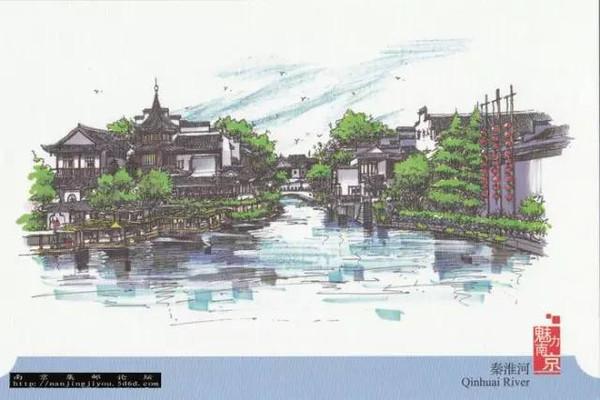 手绘古城南京版
