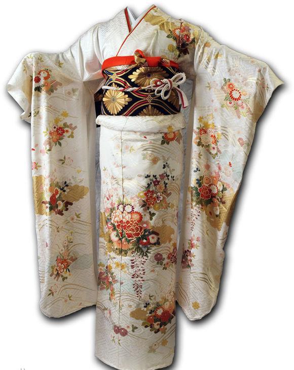 银果绣品分享汉服和服绣花刺绣上的图案使用