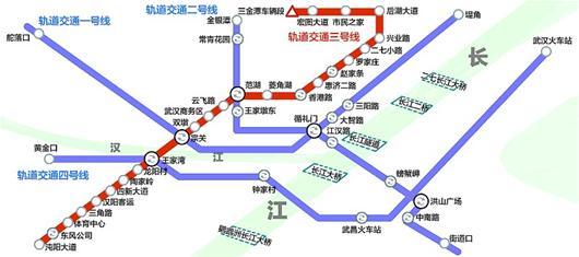 湖北日报讯 武汉第一条轨道交通线路——轻轨1号线一期,2004年7月开通