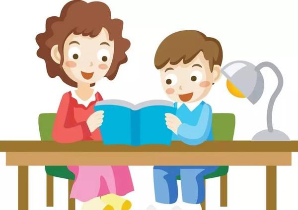家长不仅要爱读书,而且要尽可能的多和孩子在一起看书,引导孩子一起图片