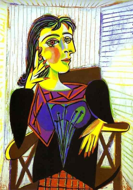 毕加索画中的女主角是谁?