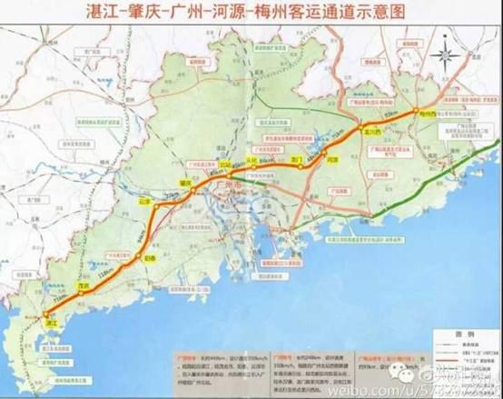 湛江商家支持广湛高铁走北线