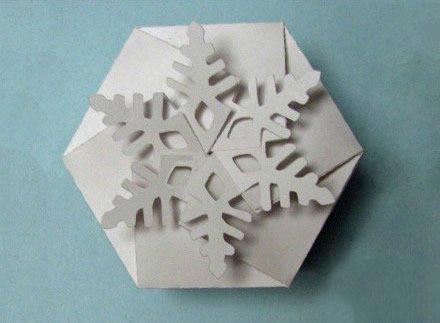 纸盒diy圣诞房子手工制作图解