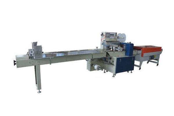 根据产品的具体情况,可选配自动供料系统实现供料无人操作,由于该机图片
