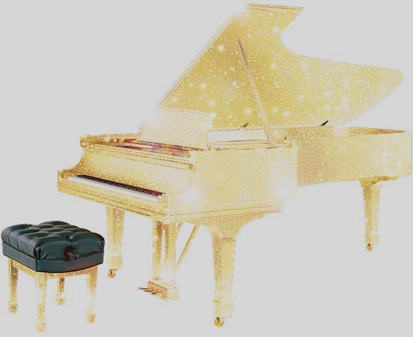 当钢琴遭遇奢侈图片