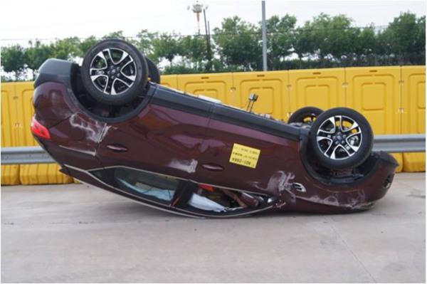 东南汽车DX7已荣获 C NCAP五星 安全认证高清图片