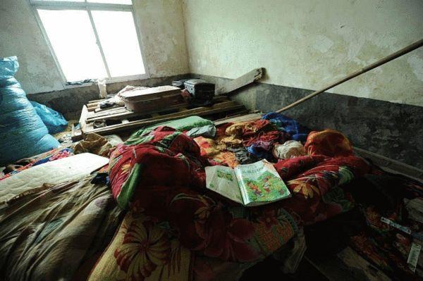孩子们生前居住的房间