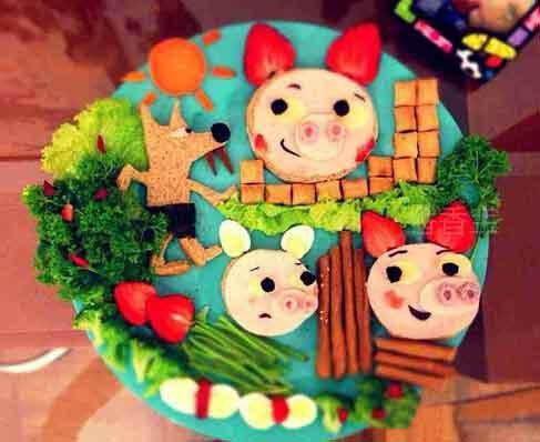 19个童话故事变美食,宝宝怎不爱吃!做法简单宁陕美食回族图片
