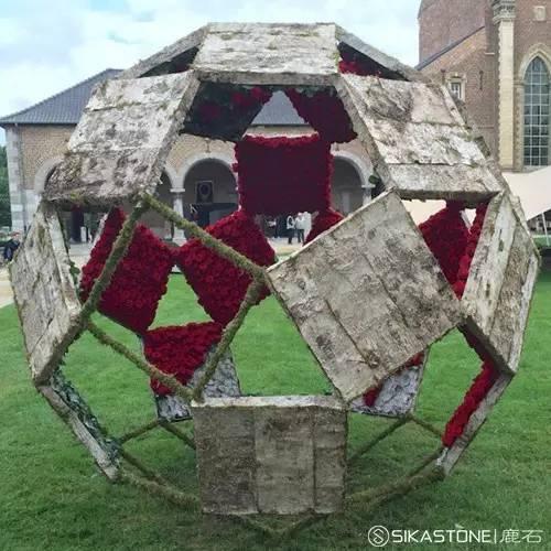 灵光闪动, 十二面体 球形花艺装置开启幸福之源图片