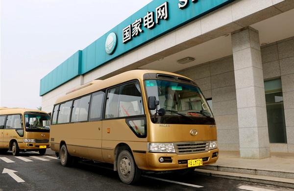 海格电动客车助力武汉江滩旅游_车猫网