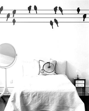 创意墙绘 定制专属个性墙面(组图)图片