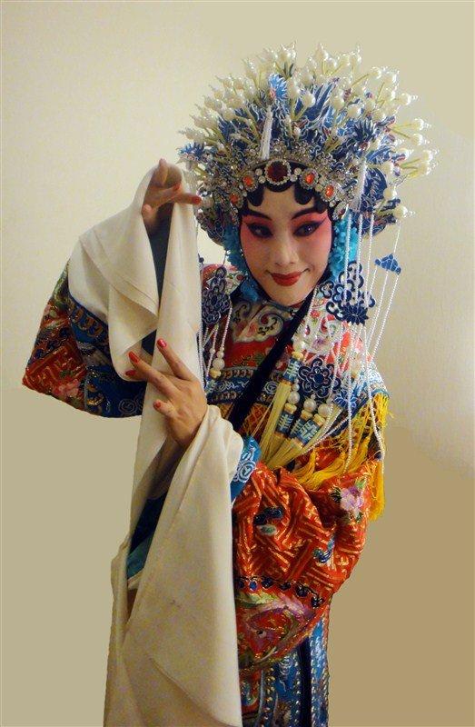 《贵妃醉酒》,王丹红饰演的杨贵妃雍容华贵