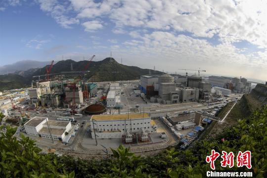 阳江核电站全景图 杨盏 摄