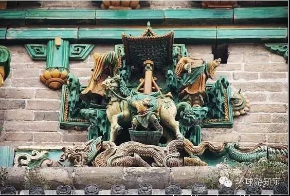 旅游必去之地,中国琉璃宝塔的顶峰之作广胜寺图片