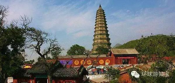 山西旅游必去之地,中国琉璃宝塔的顶峰之作广胜寺图片