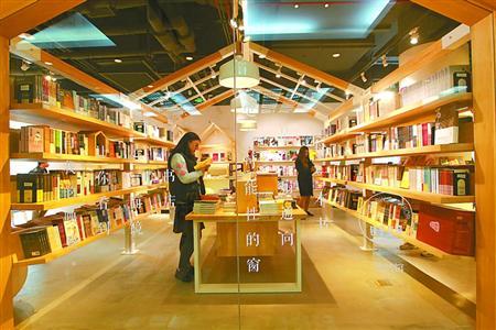 里书店_申活馆里的书店,很有文艺范. 海沙尔 摄