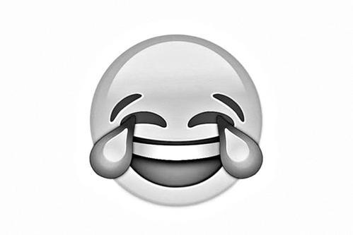 """emoji表情符中的""""笑哭脸""""图片"""