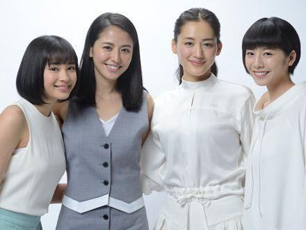 《海街日记》三姐妹提名日影蓝丝带