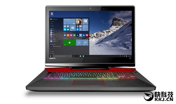 Y900配备了17寸屏幕,搭载的是第6代英特尔酷睿i7处理器和NVIDIA GTX980M显卡,内置有64GB RAM和512GB SSD,预装Windows 10家庭版操作系统。