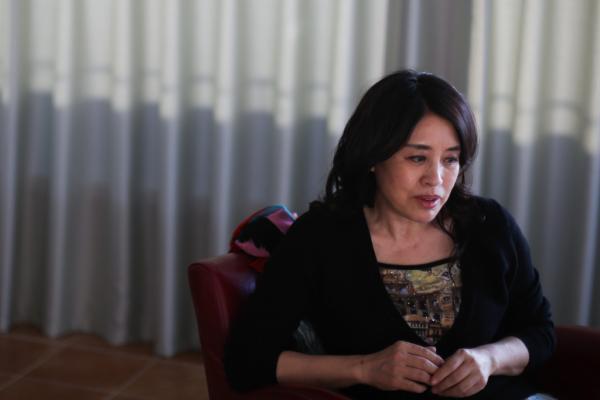 2015年12月17日,北京,诗人翟永明。澎湃新闻记者 权义 图