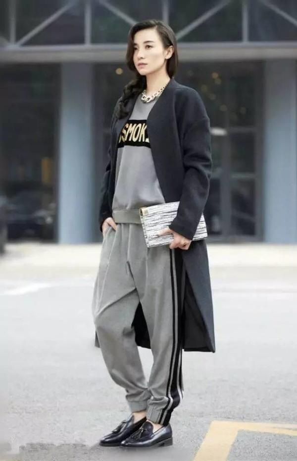 小宋佳冬日穿衣搭配,跟她学马上变时髦!