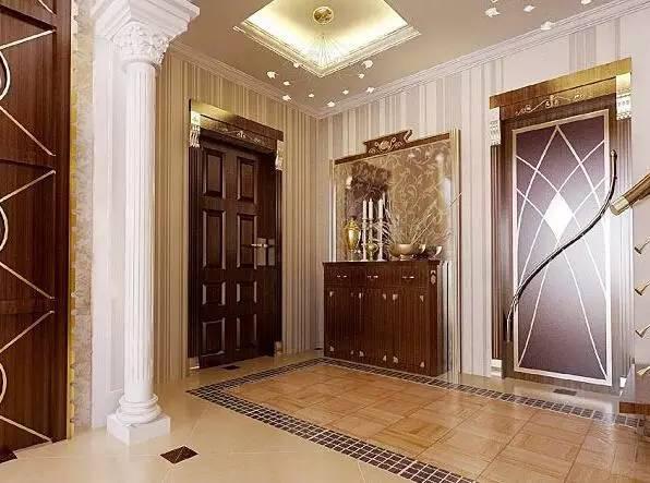别墅设计_欧式玄关装修