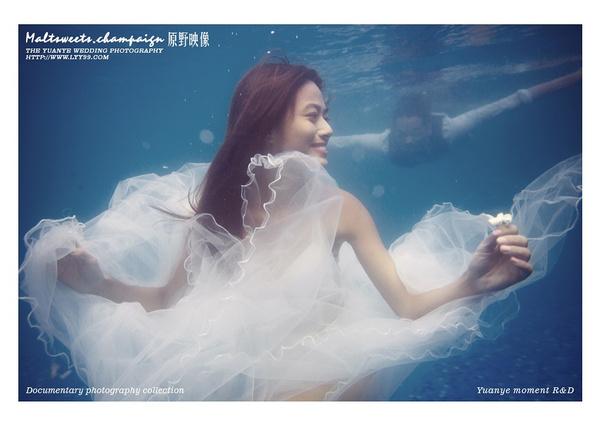 三亚水下摄影?拍摄景点:水下摄影 ,三亚水下婚纱照图片欣赏,原野