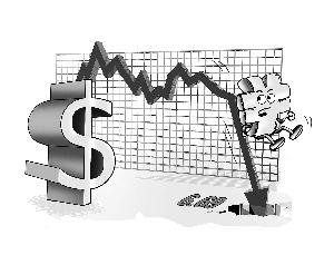 经济数据不给力,利空袭击人民币。