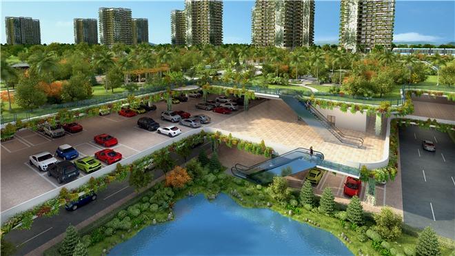 """人们将生活在一座立体的""""森林公园""""之中,这无疑将成为人类城市化进程"""