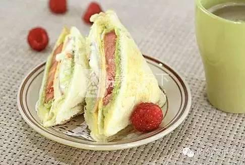 小孩营养早餐_早餐三明治,让孩子吃得健康又营养!