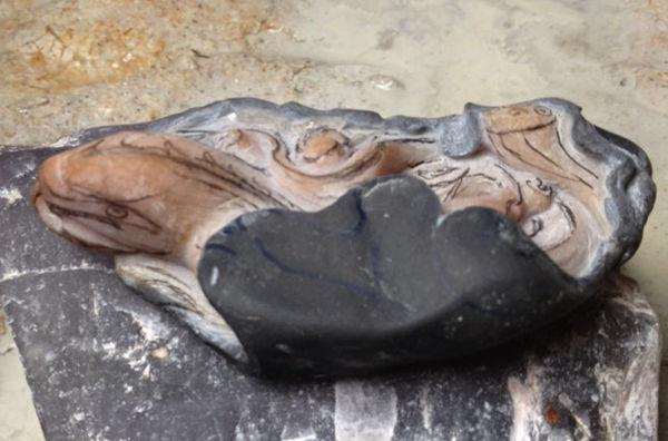 玉件雕刻设计步骤_台山玉:蜥蜴雕刻教程