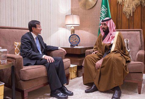 2016年1月6日,副外长张明在沙特访问,与副王储兼国防部长Mohammed bin Salman bin Abdulaziz会面。