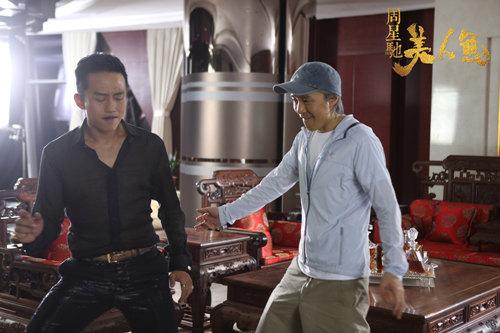 星爷邓超《美人鱼》宣传曲《无敌》玩出新意