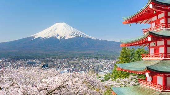 日本旅游地?_日本富士山