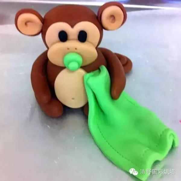 翻糖蛋糕与小猴子糖霜饼干,简直萌翻了!