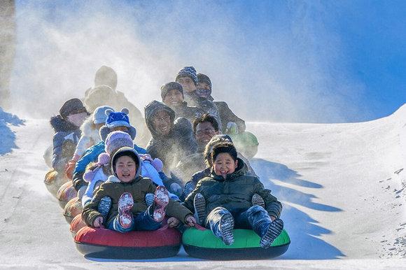 北京金海湖超级奶爸冰雪嘉年华欢乐启幕
