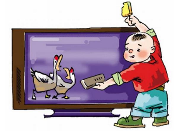 小孩子经常与不经常看电视的差别居然这么大图片
