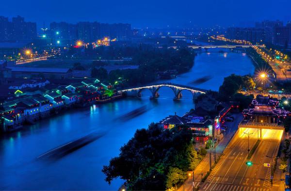京杭大运河杭州段