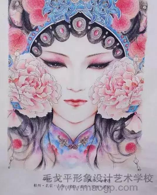 创意手绘缔造华丽美妆,惊艳到你了吗