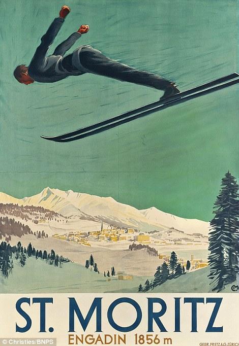 20世纪早期,滑雪成为许多欧洲旅游景点的特色项目,为了招揽游客,旅行社以及站台等人流量大的地方张贴了许多宣传海报。这些海报由许多当时著名的艺术家和设计师完成,用色大胆鲜艳,风格迥异,很是美观,起到很好的旅游宣传作用。如今因为这些照片代表了那一时代的生活写照,同时映射了技术方面的巨大变化,因而具有很大的收藏价值。