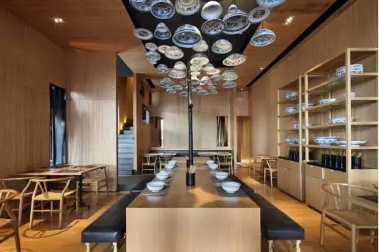 水饺店的装修风格