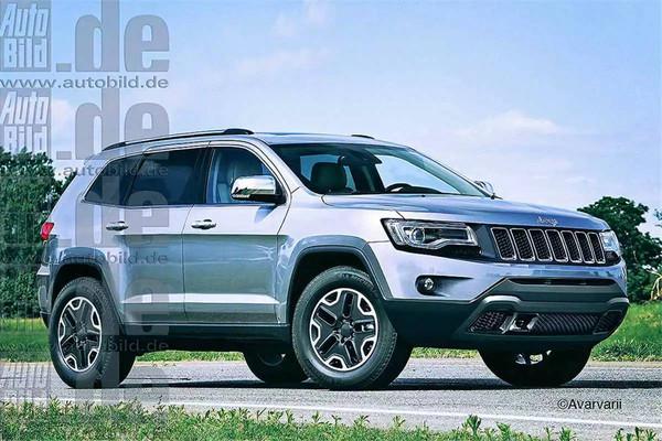jeepsuv车型_jeep全新suv车型效果图曝光或为新一代指南者