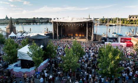 2014年夏天,瑞典首都斯德哥尔摩举行的音乐节。
