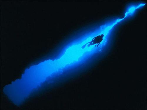 世界上最深的地方 世界上最深的地方竟然在湖中